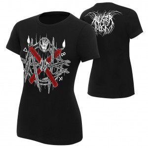 "Aleister Black ""AXB"" Women's Authentic T-Shirt"