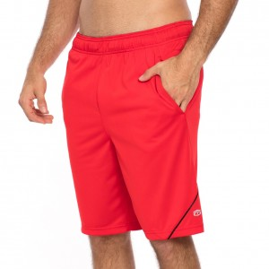 """Tapout """"Arsenal"""" Flame Scarlet Shorts"""