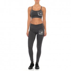 "Tapout ""Headliner"" Women's Charcoal Heather Leggings"