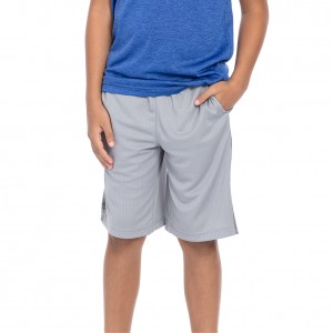 "Tapout ""Court Kings"" Youth Sleet Grey Shorts"
