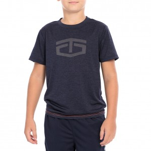 "Tapout ""Power"" Navy Crewneck T-Shirt"