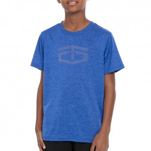 "Tapout ""Power"" Royal Crewneck Youth T-Shirt"