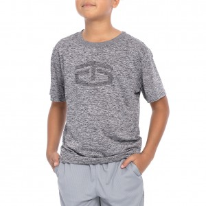 "Tapout ""Power"" Heather Crewneck Youth T-Shirt"
