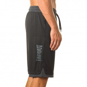 "Tapout ""War Room"" Black Heather Shorts"