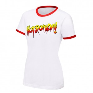 "Ronda Rousey ""Hot Ronda"" Women's Authentic T-Shirt"