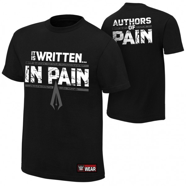 """AOP """"It is Written in Pain"""" Youth Authentic T-Shirt"""