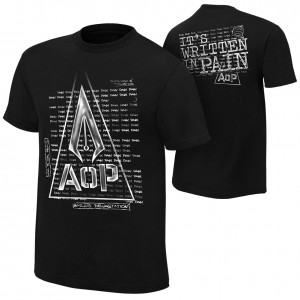 "AOP ""Pain"" Authentic T-Shirt"