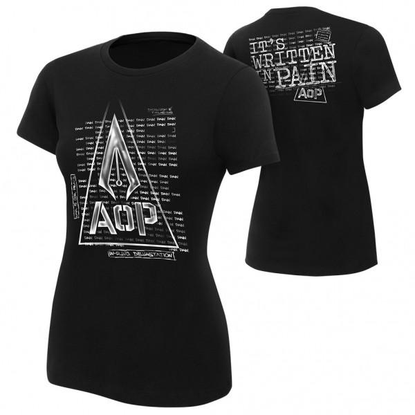 """AOP """"Pain"""" Women's Authentic T-Shirt"""