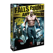 WWE Falls Count Anywhere DVD