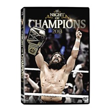 WWE Night of Champions 2013 DVD