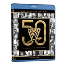 The History of WWE: 50 Years of Sports Entertainment Blu-ray