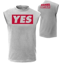 "Daniel Bryan ""YES"" Muscle T-Shirt"