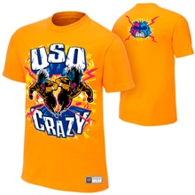 "The Usos ""Uso Crazy"" Authentic T-Shirt"