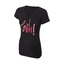"Cameron ""Girl Bye!"" Women's V-Neck Authentic T-Shirt"