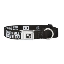 "Bo Dallas ""BOLIEVE"" Dog Collar"
