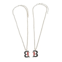 The Bellas Silver Friendship Necklace