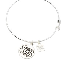 The Bellas Butterfly Silver Wire Bracelet