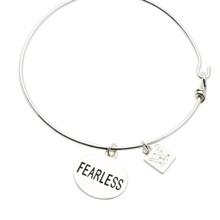 Fearless Nikki Silver Wire Bracelet