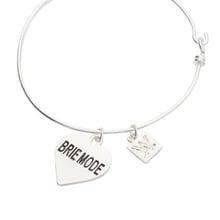 Brie Mode Silver Wire Bracelet