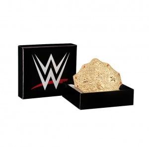 World Heavyweight Championship Belt Buckle