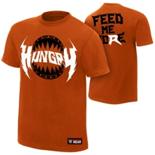 "Ryback ""Hungry"" Orange Authentic T-Shirt"