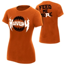 "Ryback ""Hungry"" Orange Women's Authentic T-Shirt"