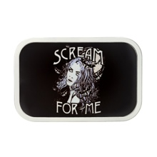 "Paige ""Scream For Me"" Belt Buckle"