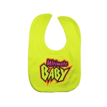 "Ultimate Warrior ""Ultimate Baby"" Bib"