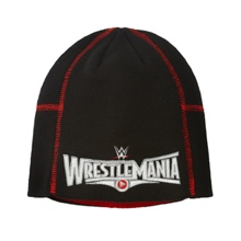 WrestleMania 31 Black Knit Hat