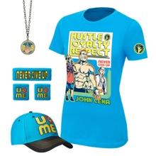 "John Cena ""Throwback"" Women's Authentic T-Shirt Package"