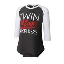 """The Bellas """"Twin Magic"""" Women's Raglan Shirt"""