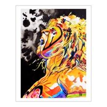 Ultimate Warrior 11 x 14 Art Print