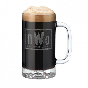 nWo 16 oz Glass Mug