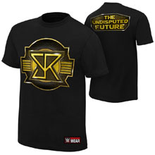 """Seth Rollins """"The Undisputed Future"""" Authentic T-Shirt"""