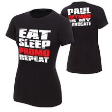 "Paul Heyman ""Advocate"" Women's Authentic T-Shirt"