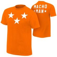 "Macho Man ""Stars"" Authentic T-Shirt"
