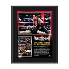 The Undertaker WrestleMania 31 10 x 13 Photo Collage Plaque