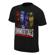 "WWE Immortals ""Beyond The Ring"" Official Youth T-Shirt"
