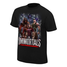 "WWE Immortals ""Superpowered"" Official T-Shirt"