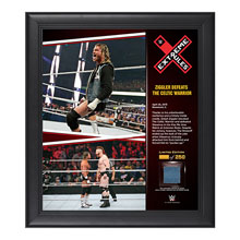 Dolph Ziggler Extreme Rules 15  x 17 Framed Ring Canvas Photo Collage