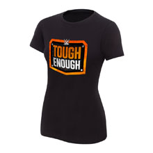 WWE Tough Enough Logo Women's T-Shirt