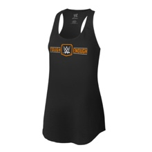 Tough Enough Women's Black Racerback Tank Top
