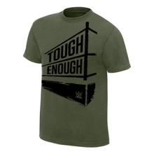 Tough Enough Military Green T-Shirt