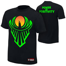 "The New Day ""Power of Positivity"" Authentic T-Shirt"