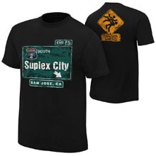 """Brock Lesnar """"Suplex City: San Jose"""" Authentic T-Shirt"""