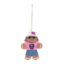 Macho Man Gingerbread Ornament