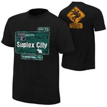 """Brock Lesnar """"Suplex City: Houston"""" Authentic T-Shirt"""