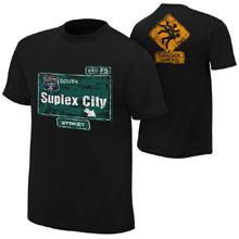 "Brock Lesnar ""Suplex City: Sydney"" Authentic T-Shirt"