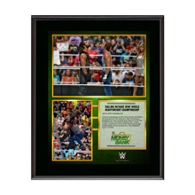 Seth Rollins Money in the Bank 10 x 13 Photo Collage Plaque