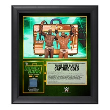 Prime Time Players Money in the Bank 15  x 17 Framed Ring Canvas Photo Collage